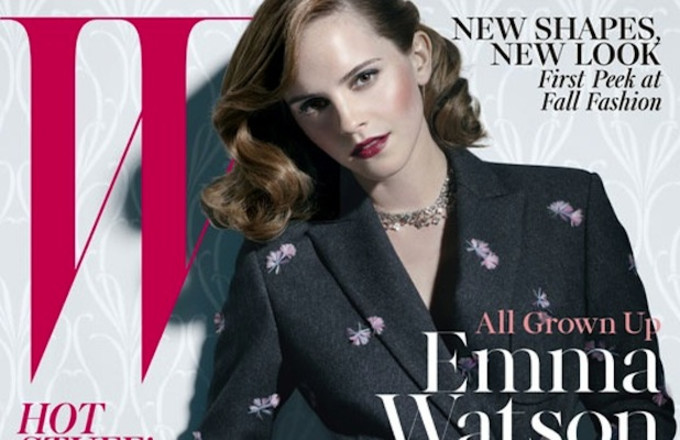Emma Watson Looks Grown And Sexy For W Magazine By Michael