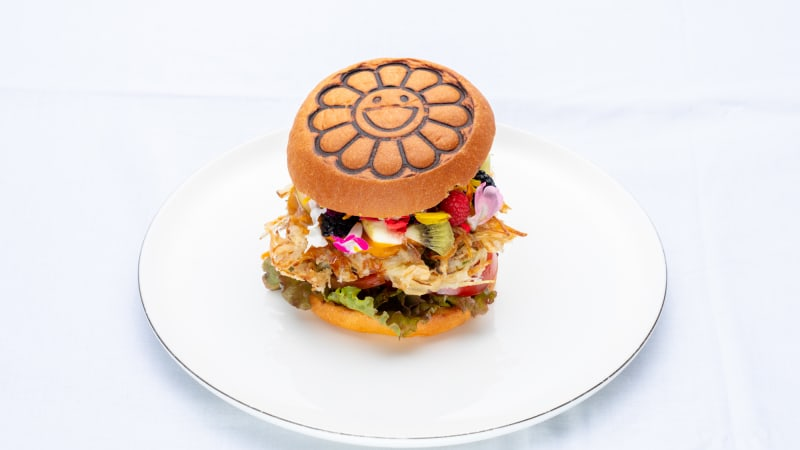The Supersized Flower Burger From Takashi Murakami Makes Its North American Debut at ComplexCon!