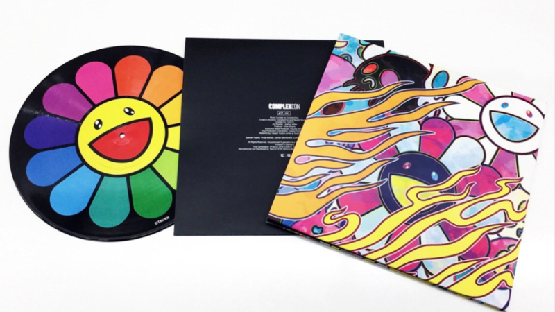 """12on12's Limited Edition ComplexCon 'Vinylwork' featuring Art by Takashi Murakami"""" & music by Kid Cudi, 21 Savage, and More"""