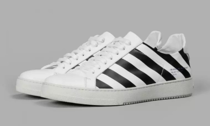 Off Abloh's First For Look At Sneaker Here's A White Virgil Men's hrdBCtQxs