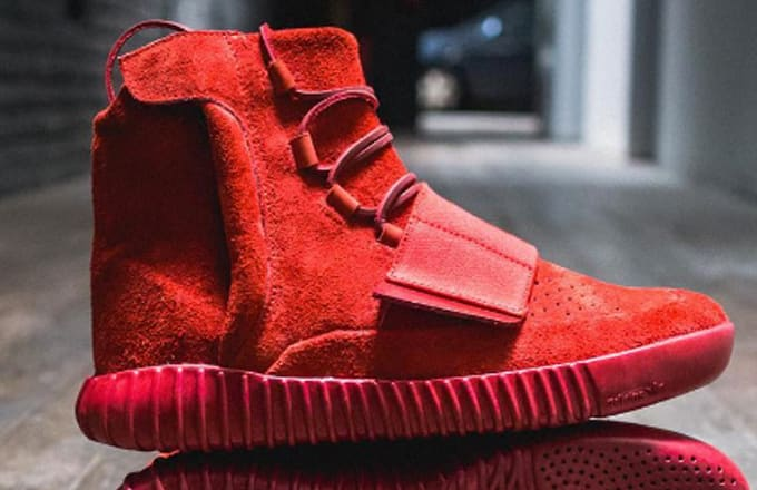 Adidas Shoe 750 SurgeonComplex Red Boost October The Yeezy By PZkuXi