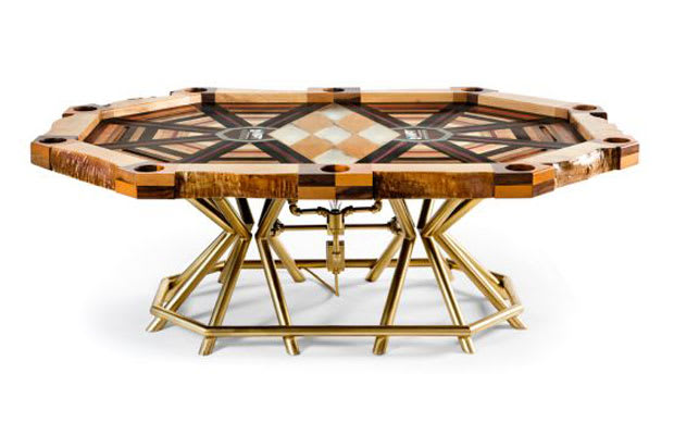The Worlds Most Expensive Poker Table Complex