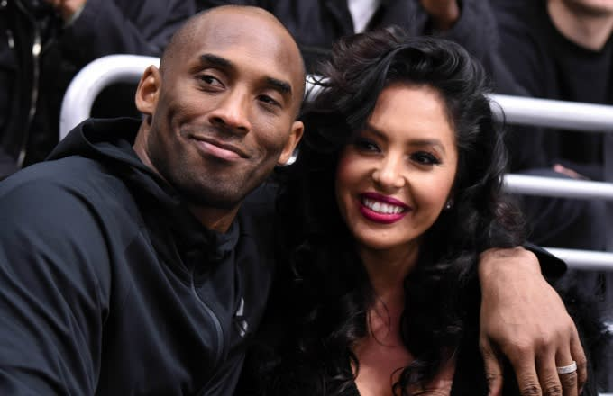 Vanessa Bryant Wears All Five of Kobes NBA Championship Rings on