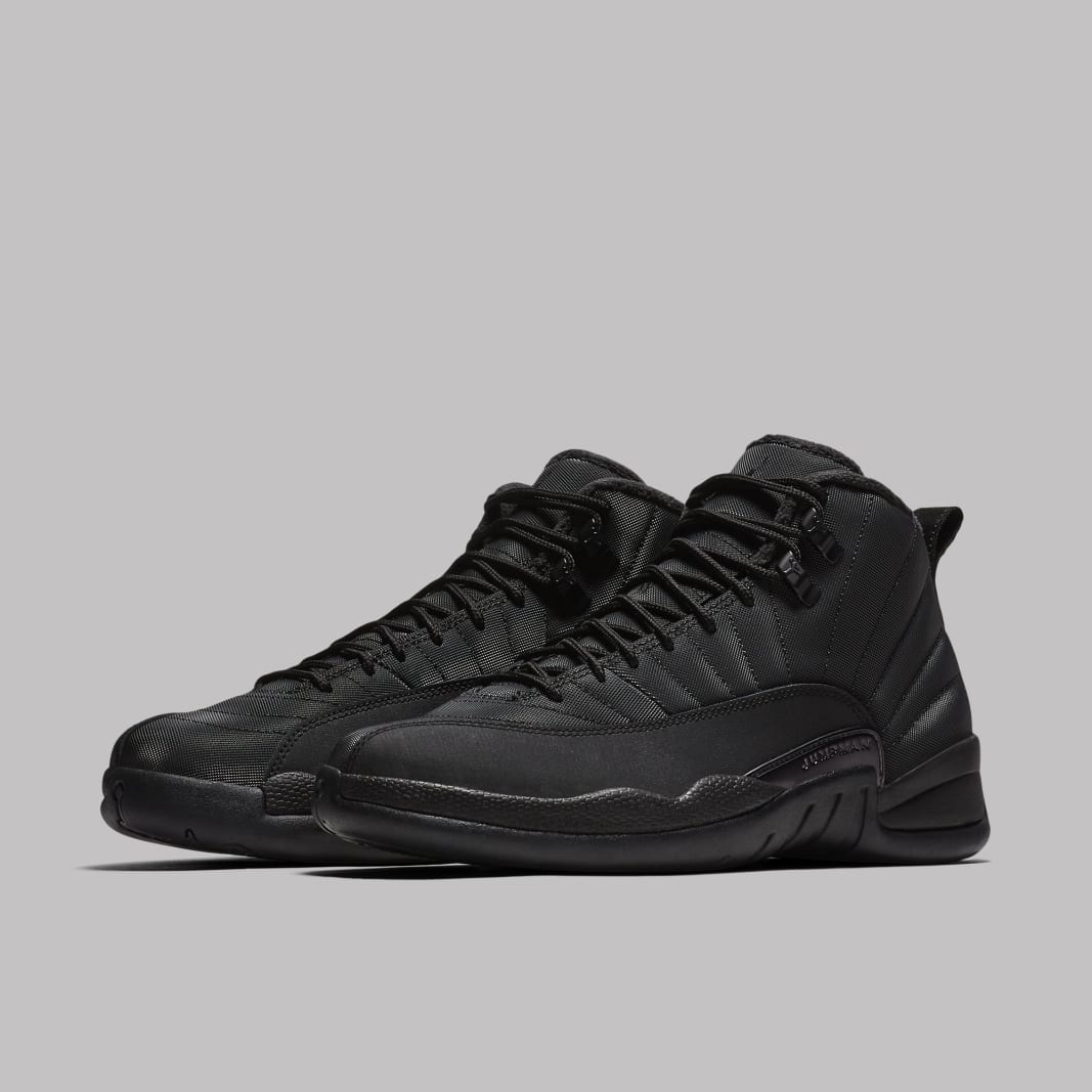 0b3d42b1552aaf Air Jordan 12 Black Winterized BQ6851-001 Release Date