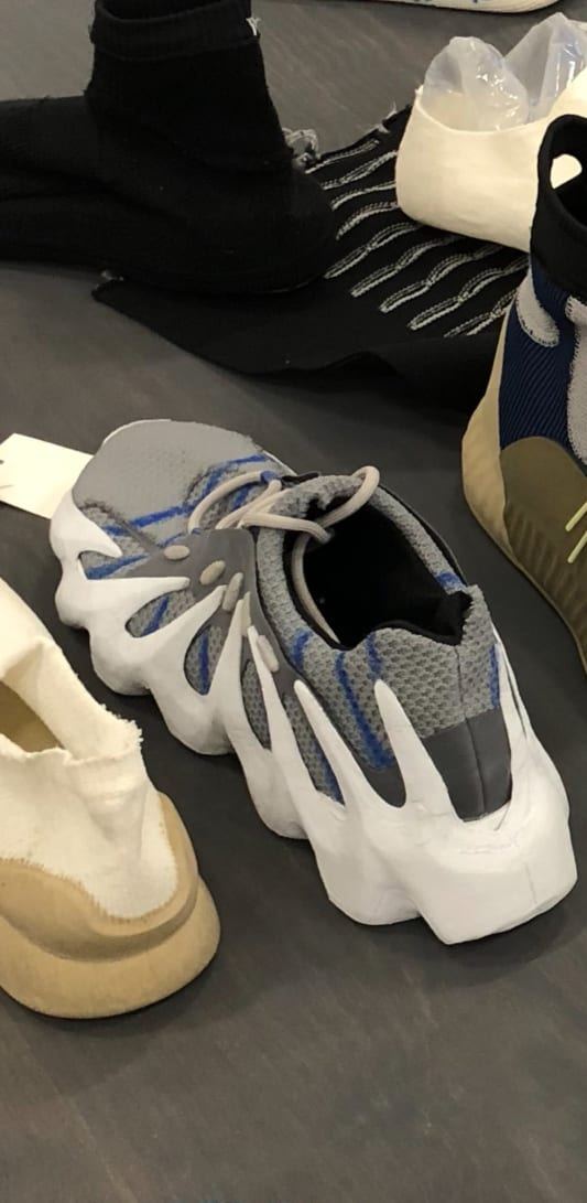 First Look at Kanye West s Adidas Yeezy 451 Early Prototype  54e1e3f78