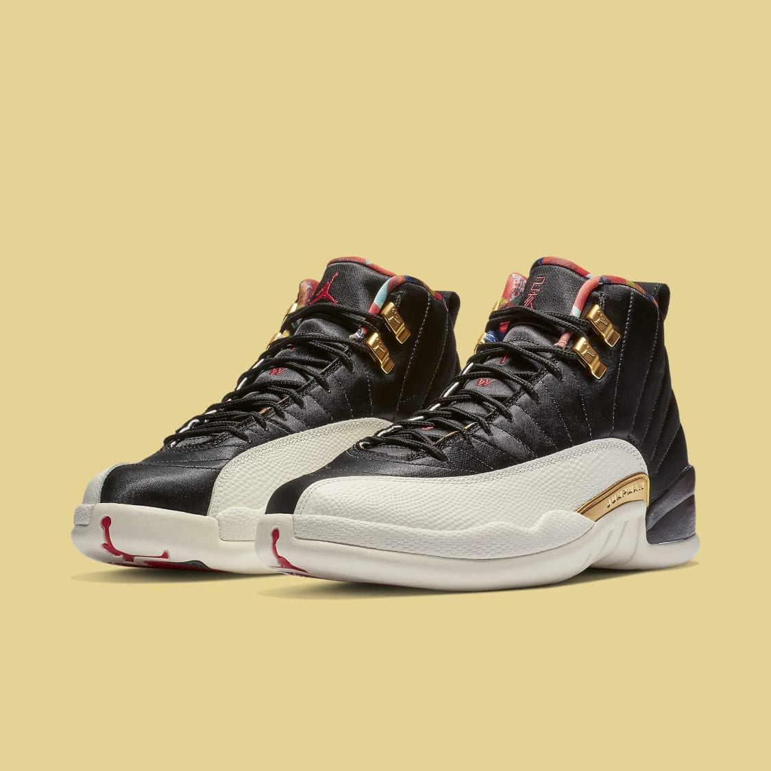 127e2cd60653 The  Chinese New Year  Air Jordan 12 Has Tearaway Uppers