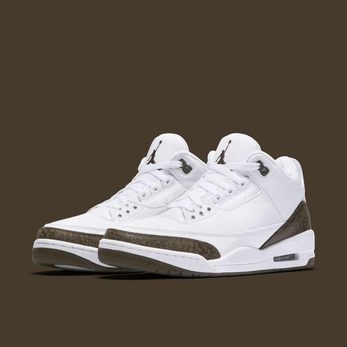 aaa47fe4f85a7e Air Jordan 3  Mocha  Release Date December 2018 136064-122