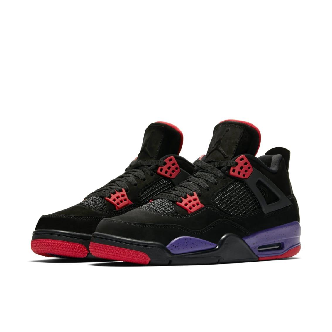 95e4f4abb5d5 Air Jordan 4 Retro NRG  Black University Red Court Purple   AQ3816 ...