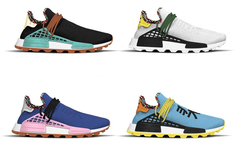 a3ce1f978291 Pharrell Williams x Adidas NMD Hu  Inspiration  Pack Release Date ...