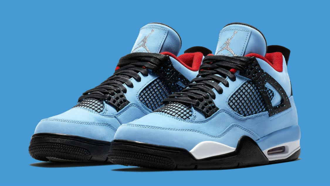 Travis Scott x Air Jordan 4  Houston Oilers  308497-406 Release Date ... 291caff87