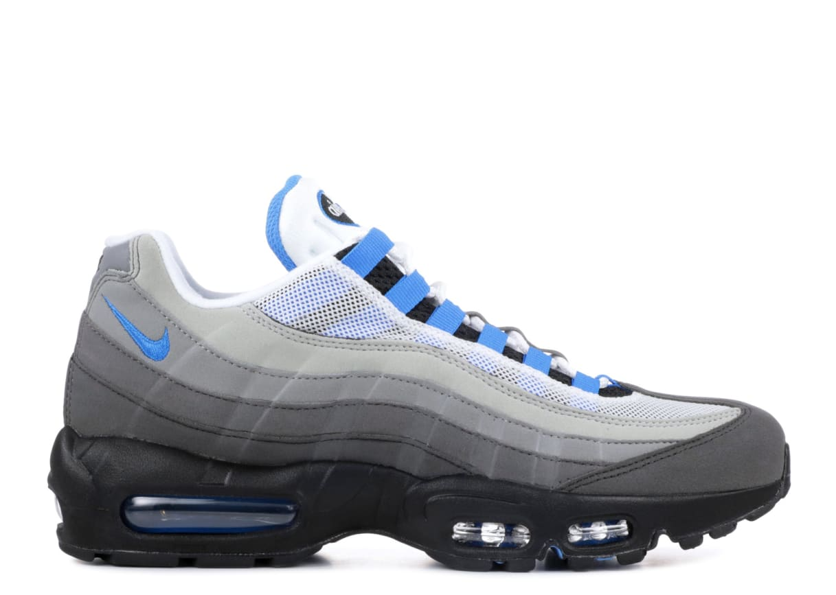 new style 05316 c1399 Nike Air Max 95 Crystal Blue AT8696-100 Release Date  Sole C
