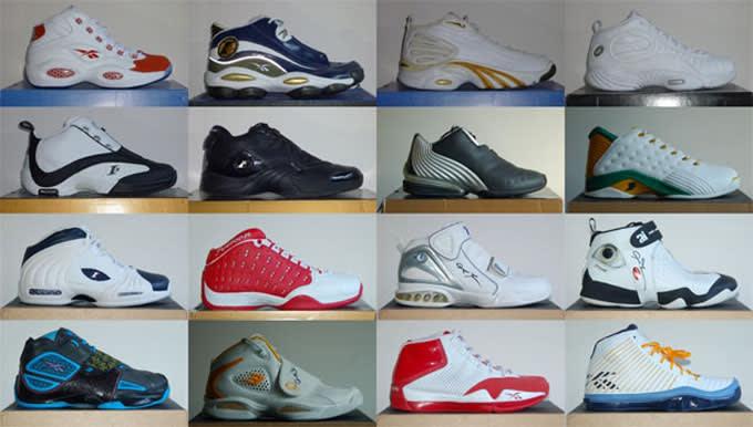 9eea82b283a History Allen Iverson Reebok Signature Sneaker Line
