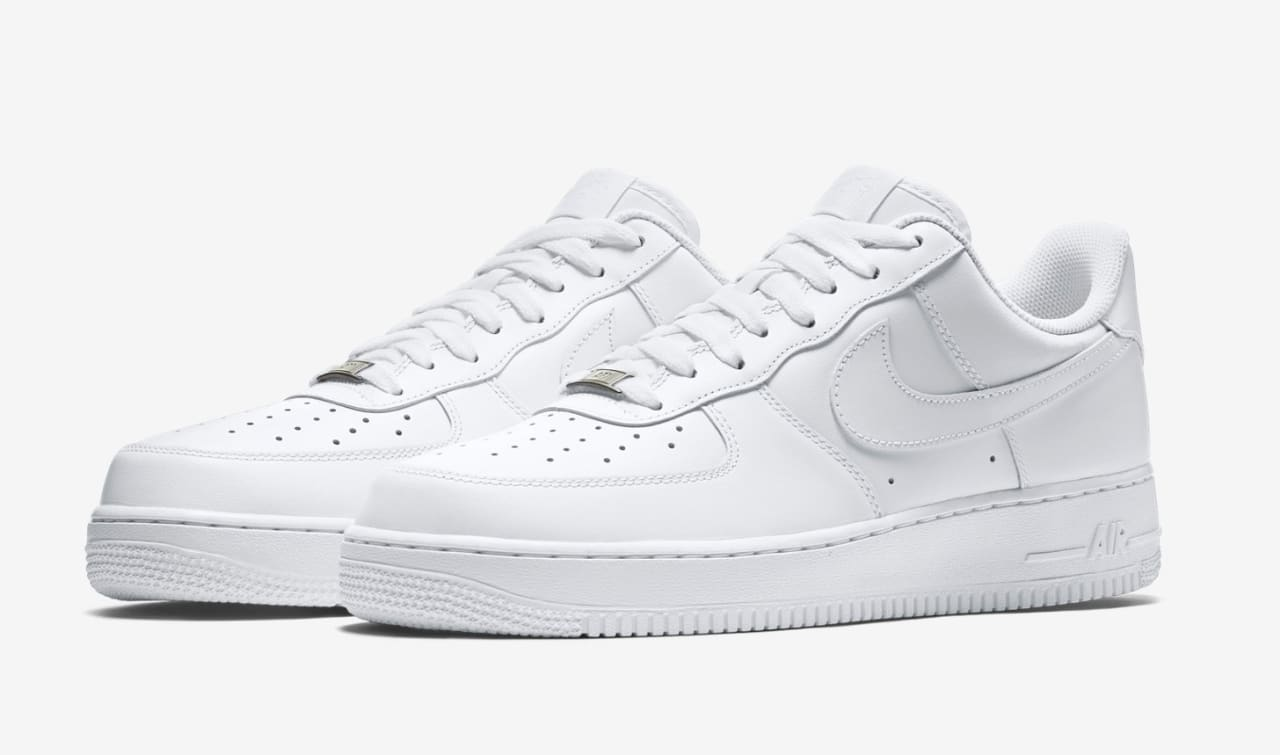 timeless design fc3d1 cb33c The Forgotten History of the White on White Air Force 1, Nikes Perfect  Sneaker