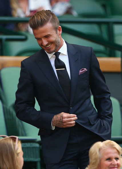 Is Daivd Beckham The Haistyle Trendsetter For The