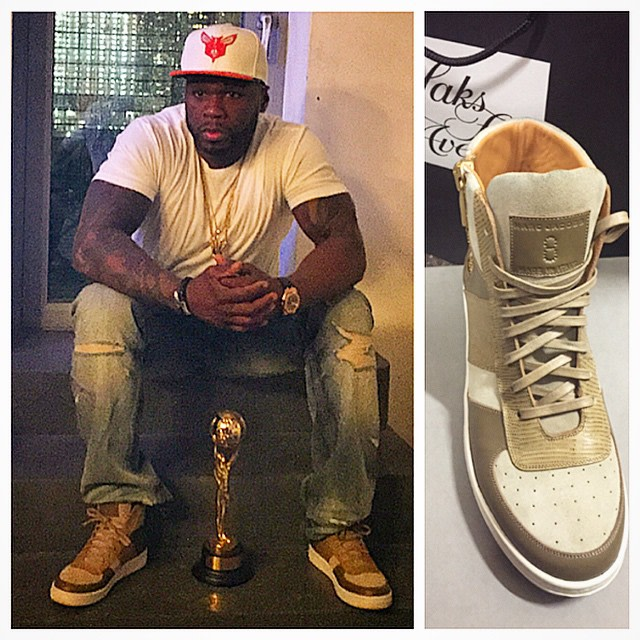 50 Cent Has a Bunch of Wild and Super Expensive Sneakers
