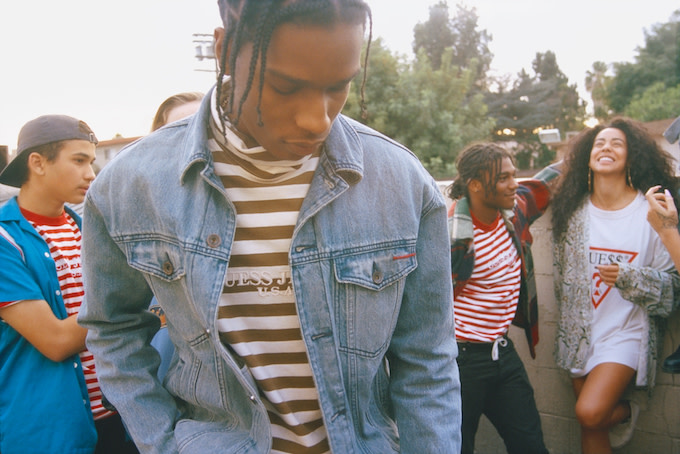 A$AP Rocky x Guess : Une collection old school