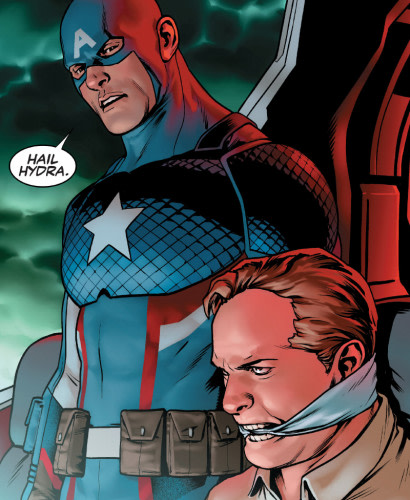 Captain America Vinaigrette Meme