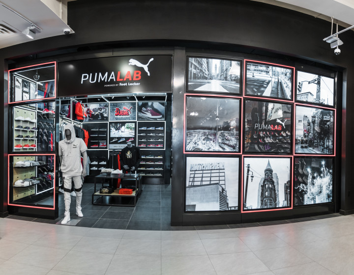 super populaire 637d9 99d45 Puma has opened Canada's first Puma Lab, powered by Foot ...
