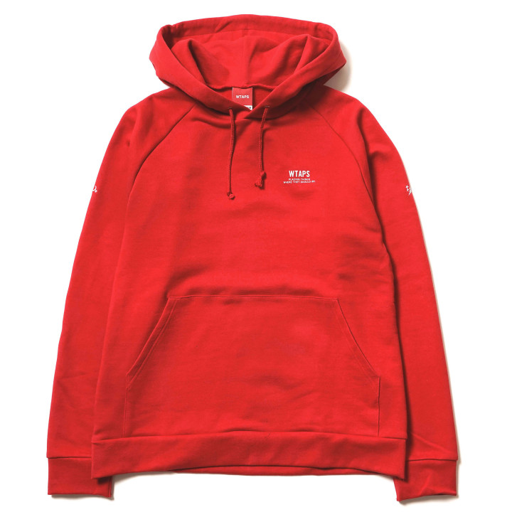 Wtaps Red Sweatshirt