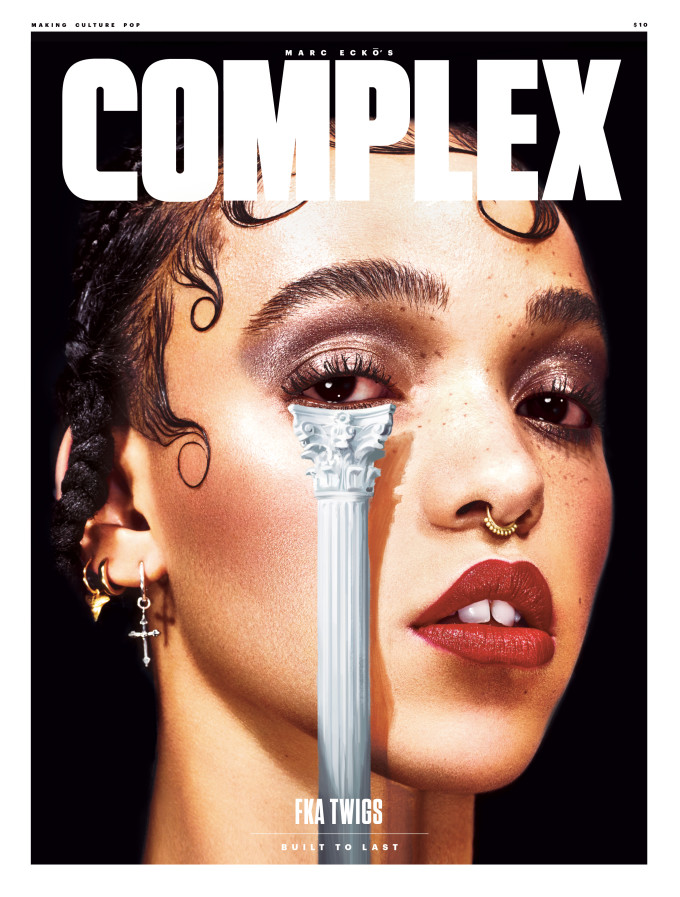 """Here's Why FKA Twigs Told Sunday Times Journalist """"I Think"""