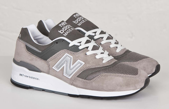 reputable site 22a2d c231e Kicks of the Day: New Balance 997 Grey | Complex