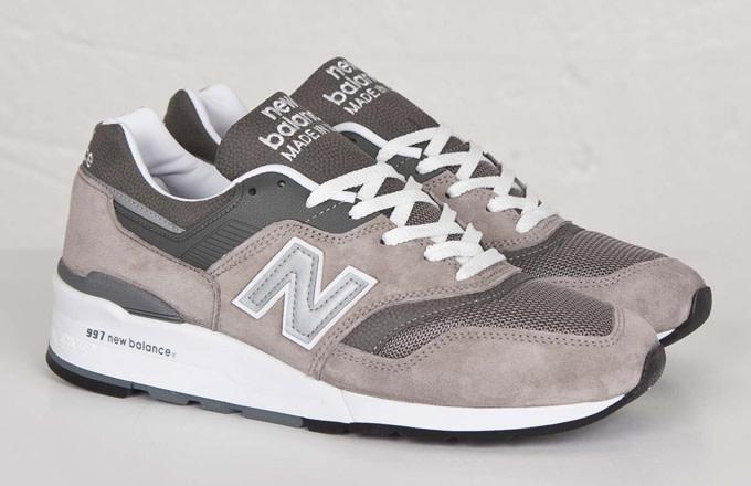 reputable site 99297 e389e Kicks of the Day: New Balance 997 Grey | Complex