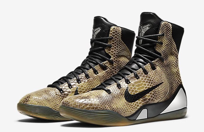 """outlet store 3dd44 a1a5e Kicks of the Day: Nike Kobe 9 High EXT """"Snakeskin""""   Complex"""