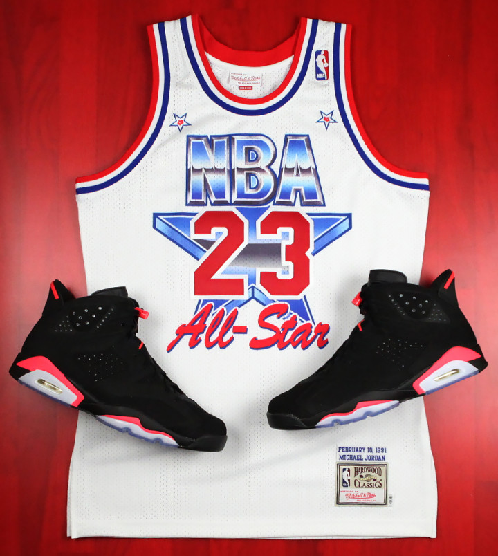 huge discount 3efa1 05a75 Mitchell & Ness are Re-releasing Michael Jordan's 1991 All ...
