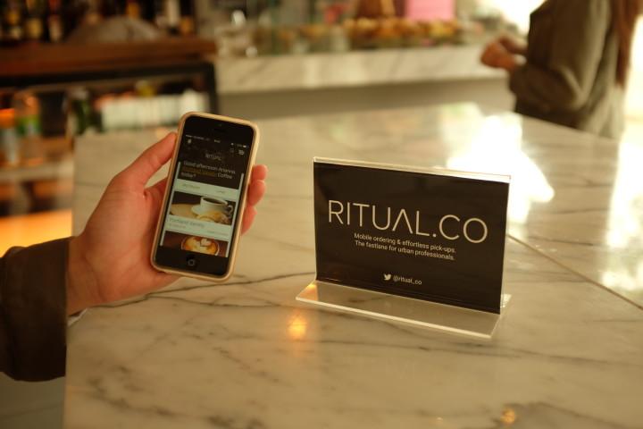 Toronto-based app, Ritual aims to make ordering food easier
