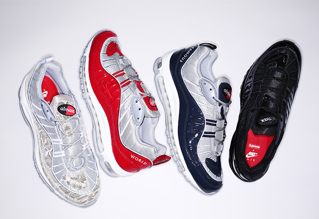 The Supreme X Nike Air Max 98 Will Not Be Dropping In Store