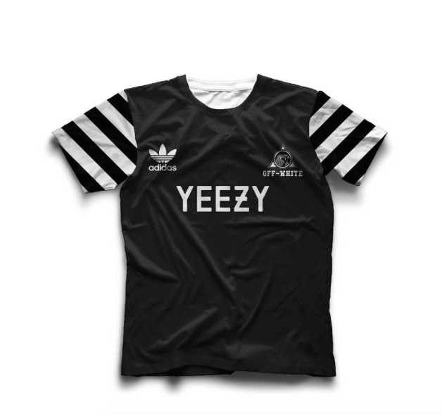 bd80de297a2 A Graphic Designer Reimagines Soccer Kits by Kanye West, Balmain ...