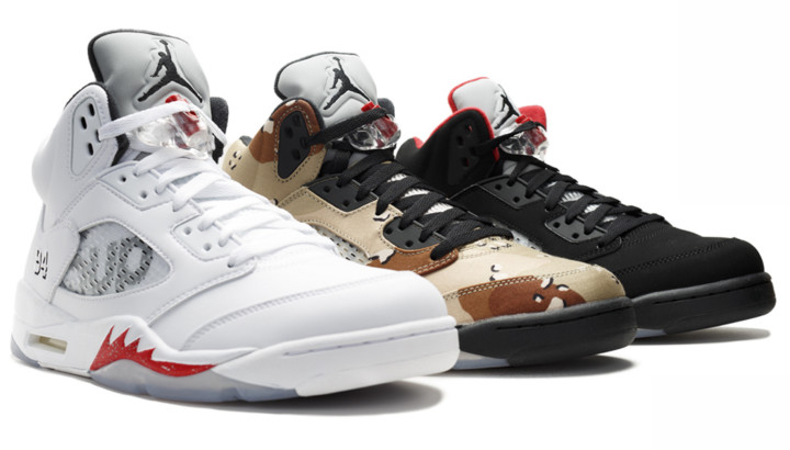 the latest f2fef a250c Supreme x Air Jordan V Giveaway by Flight Club | Complex