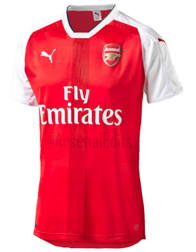 super popular fa903 c5013 Here's a First Look at Arsenal's Rumoured Home Shirt for ...