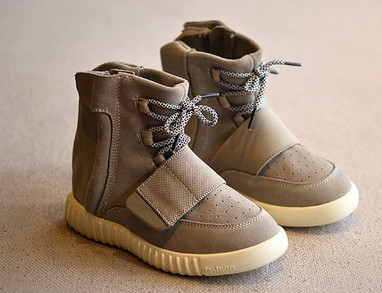 check out 45174 3ae6f A Brand Has Created Yeezy Boosts For Kids | Complex
