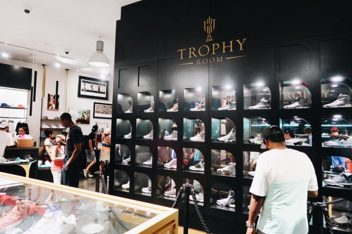 adeaf438fbe A Look Inside Michael Jordan's Son's Sneaker Store