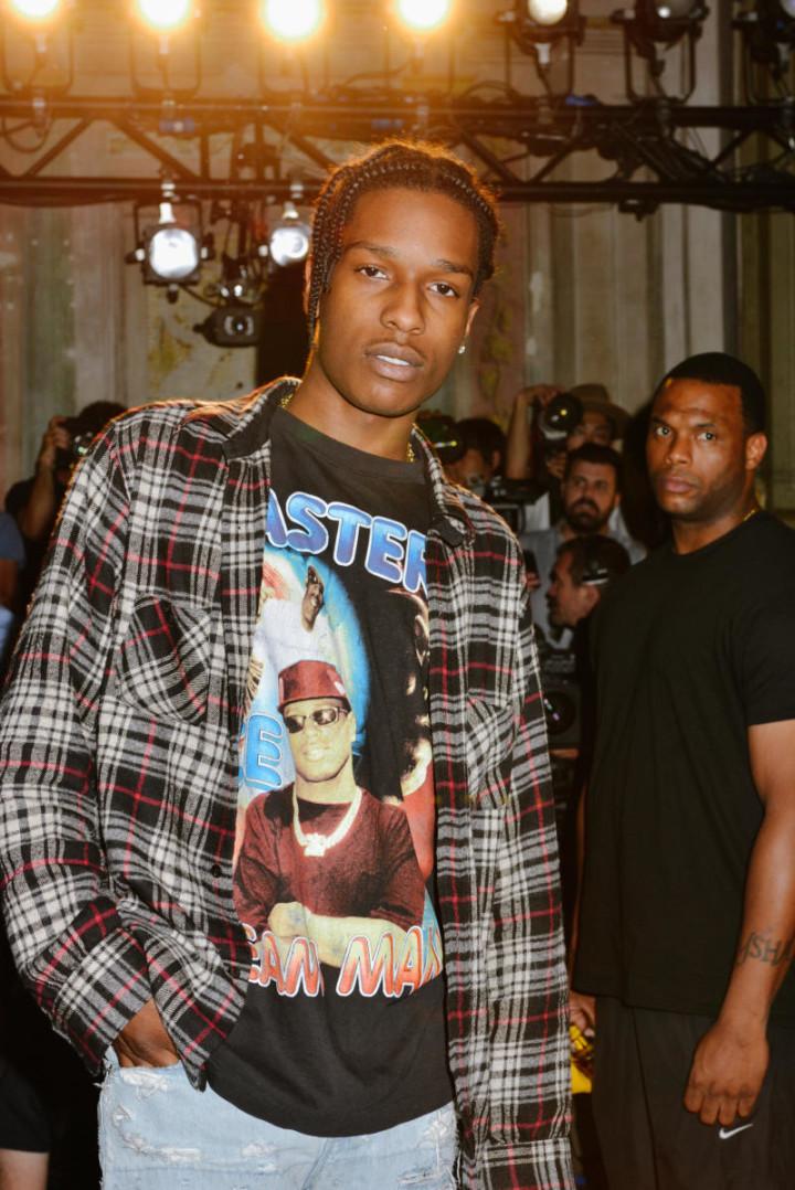 A$AP Rocky at Pitti Uomo