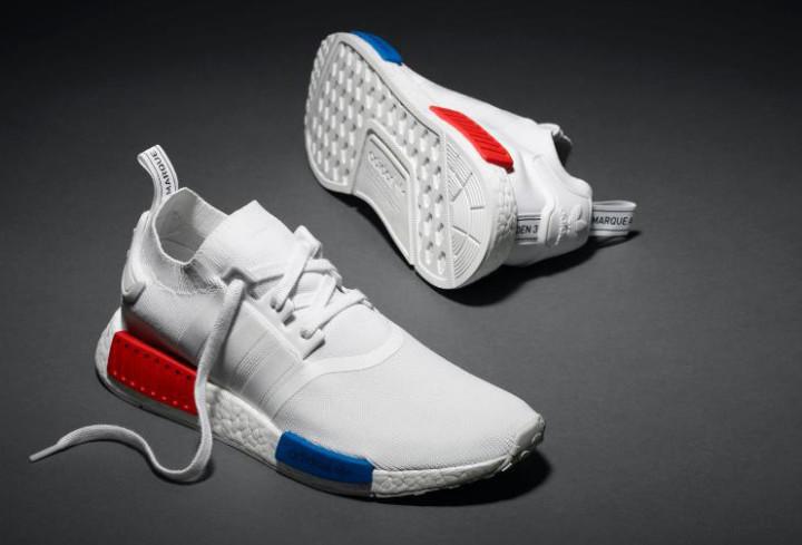 4e8ca4bbe8702 White Adidas NMD Primeknit Release Date | Complex