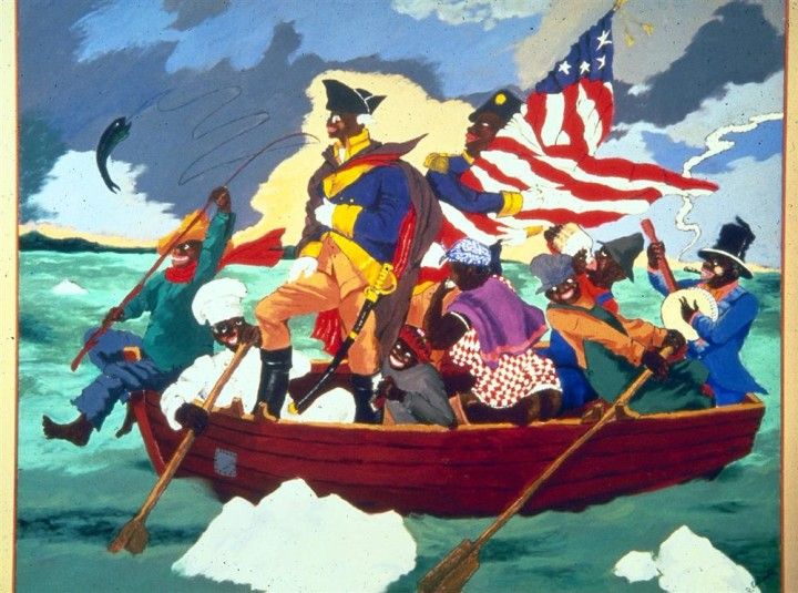 Image result for George Washington Carver Crossing Delaware by Robert H. Cole