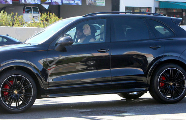 Miley Cyrus Has a New Blacked-Out Porsche Cayenne | Complex