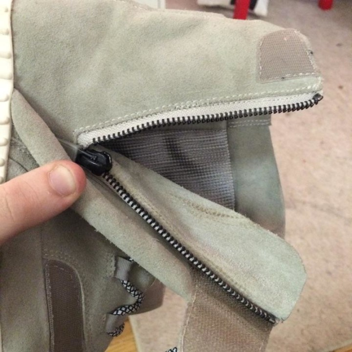 huge selection of 80e61 6db5f adidas Yeezy 750 Boost Replacements for Broken Zippers | Complex