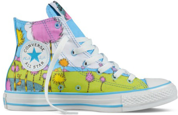 f3415702427 In anticipation of Dr. Seuss' The Lorax, opening in theaters this Friday,  Converse and Dr. Seuss have teamed up for another Chuck Taylor All-Star ...