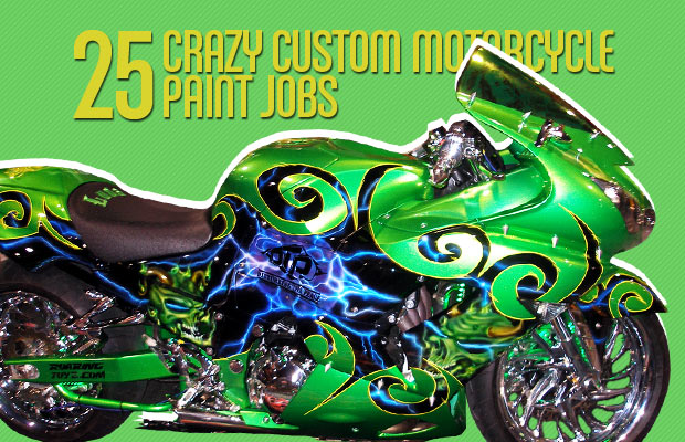 Gallery 25 Crazy Custom Motorcycle Paint Jobs Complex