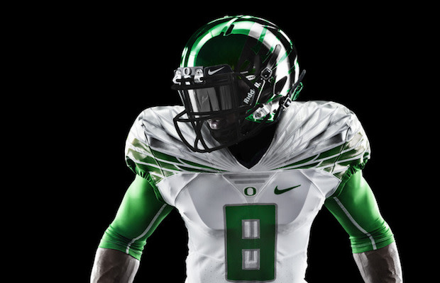 pretty nice 3e13a 82fba The Oregon Ducks Will Wear These Nike 2014 Mach Speed ...