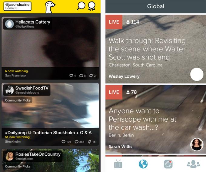 Meerkat vs  Periscope: Best Live Streaming App | Complex
