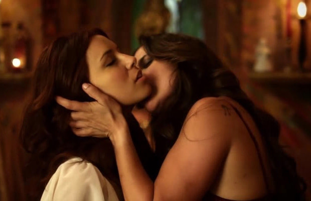 Lesbian scence from wild things