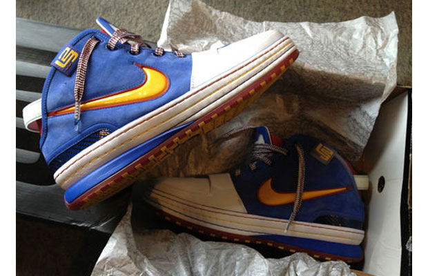 finest selection 5ff6e c3bc5 eBay Sneaker Auction of the Day  Nike Zoom LeBron VI
