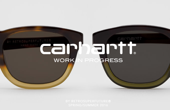 1740e5d1b77 Carhartt WIP Returns to Design RETROSUPERFUTURE® for a Fifth Eyewear  Collection.