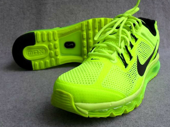 sports shoes edd4a 3c0f8 After the Swoosh recently introduced the Air Max+ 2013, today we see an  upcoming Volt variation of the forthcoming silhouette. The redesigned Max  model is ...