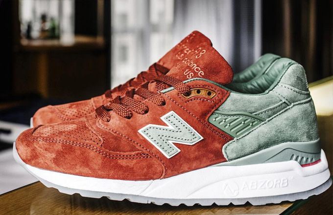 best cheap 34a85 5ae71 Concepts  Latest New Balance Collaboration Is an Ode to Baseball s Greatest  Rivalry