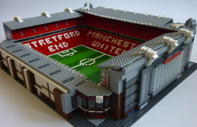Here's How Old Trafford Would Look if It Was Made from 2,500